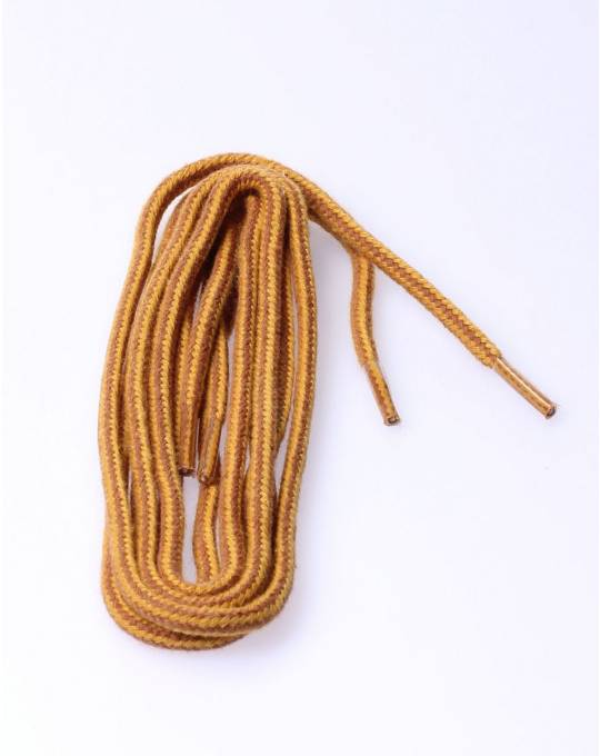 Round laces orange/brown/yellow 90c