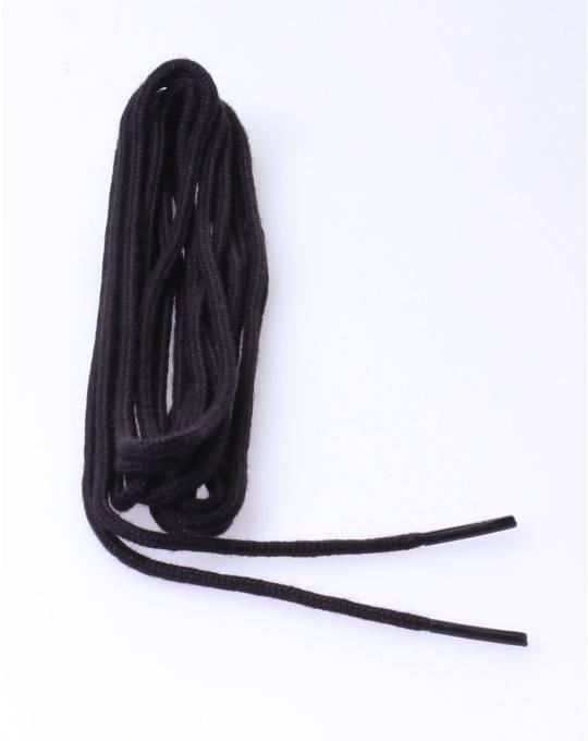 Round laces 120cm black