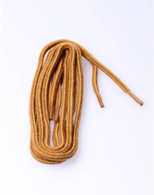 Round laces 120cm orange/braun/yell
