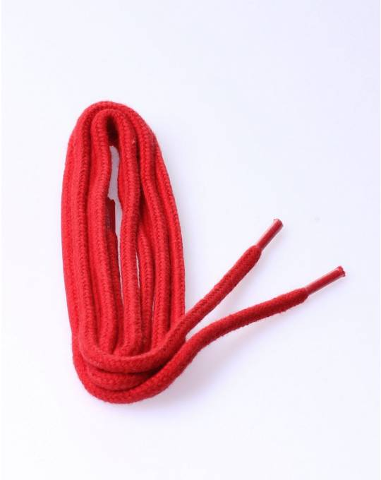 Round laces red 90 cm